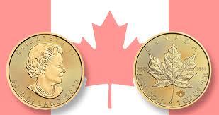 Canadian bullion gold coins